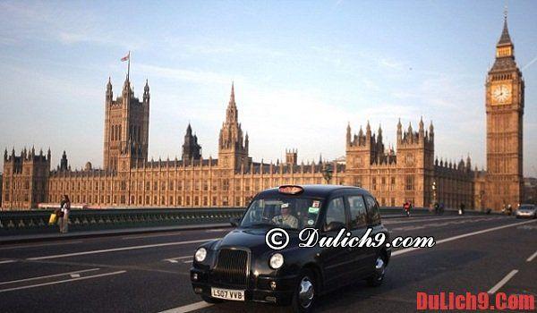 Du lịch Anh quốc bằng các phương tiện công cộng đặc biệt