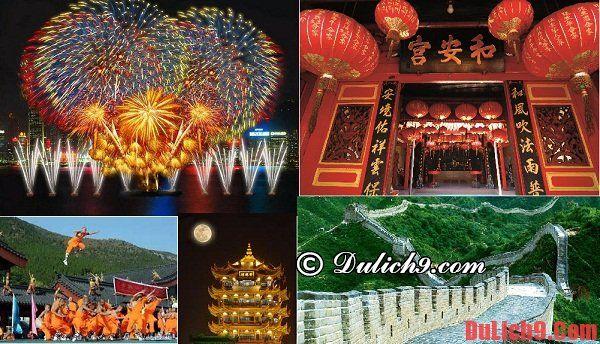 Thời điểm thích hợp đi du lịch Trung Quốc
