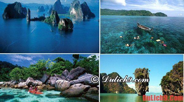 Vịnh Phang Nga – vịnh biển đẹp nhất Thái Lan: Thái Lan có vịnh biển nào nổi tiếng?