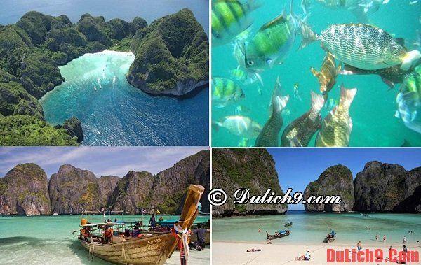Những vịnh biển đẹp nhất ở Thái Lan