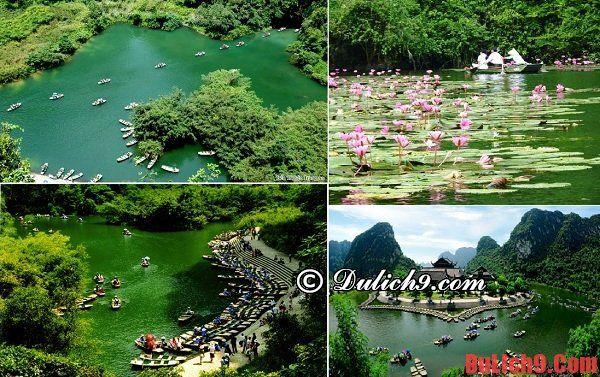 Du lịch Ninh Bình thăm quan Tràng An - Danh lam thắng cảnh đẹp, nổi tiếng ở Ninh Bình: Phượt Ninh Bình nên đi đâu chơi?