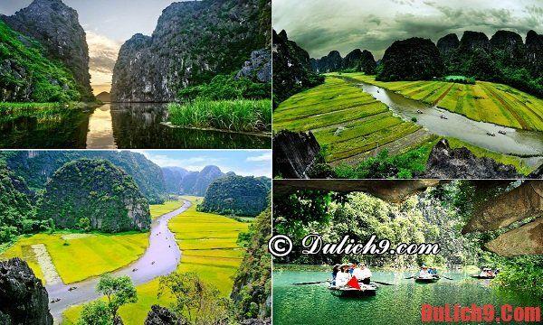 Du lịch Ninh Bình thăm thú Tam Cốc-Bích Động - Du lịch Ninh Bình nên đi đâu chơi, tham quan, ngắm cảnh, chụp ảnh đẹp?