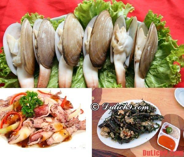 Những món ăn ngon nổi tiếng ở Cát Bà