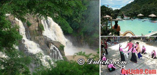 Khu du lịch Cửu Thác Tú Sơn - Hòa Bình: Nên đi đâu du lịch ở miền Bắc vào mùa hè? Địa điểm tham quan, vui chơi hấp dẫn vào mùa hè ở Hà Nội?