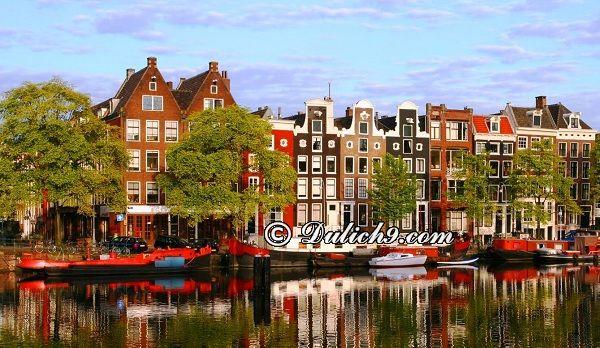 Thuê khách sạn tại Amsterdam/ Nên ở đâu khi du lịch Amsterdam: Kinh nghiệm du lịch Amsterdam tự túc, giá rẻ