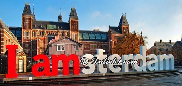 Kinh nghiệm du lịch Amsterdam: Hướng dẫn cách di chuyển, đi lại, tham quan, ăn uống khi du lịch Amsterdam