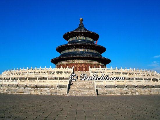 Thời điểm thích hợp du lịch Bắc Kinh/ Nên đi Bắc Kinh vào thời gian nào lí tưởng? Kinh nghiệm du lịch Bắc Kinh, Trung Quốc tự túc, giá rẻ