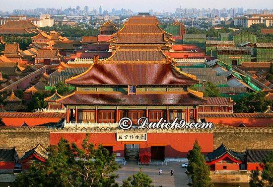 Nên đi đâu ở Bắc Kinh/ Những điểm tham quan hấp dẫn ở Bắc Kinh - Kinh nghiệm du lịch Bắc Kinh tự túc, giá rẻ