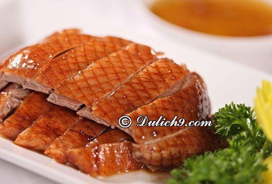 Ăn gì ngon khi du lịch Bắc Kinh/ Thưởng thức đặc sản Bắc Kinh: Món ăn đặc sản nổi tiếng ở Bắc Kinh