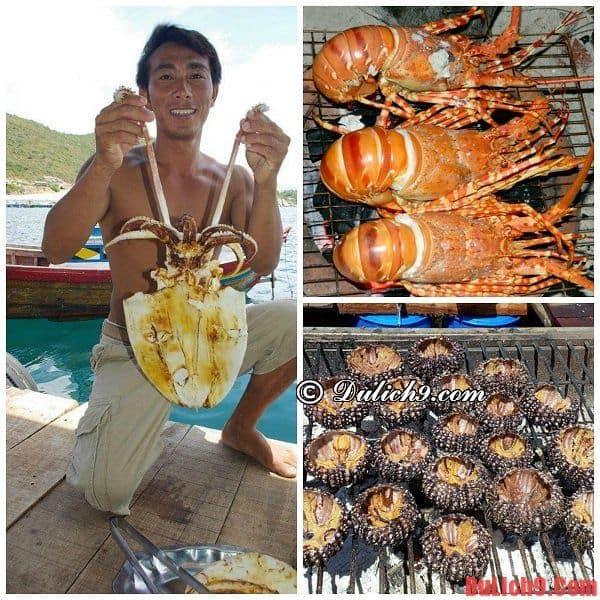 Đặc sản trên đảo Bình Ba: Kinh nghiệm du lịch đảo Bình Ba, Ăn gì khi du lịch đảo Bình Ba?