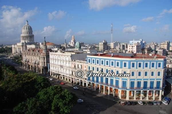 Những điểm đến hấp dẫn ở Cuba/ Đi đâu, chơi gì khi du lịch Cuba - Kinh nghiệm du lịch Cuba tự túc, giá rẻ