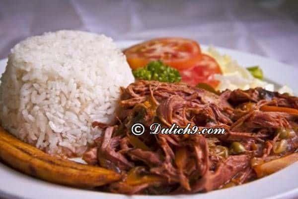 Món ăn ngon và nổi tiếng ở Cuba/ Ăn gì, ở đâu khi du lịch Cuba? Kinh nghiệm du lịch Cuba tự túc, giá rẻ