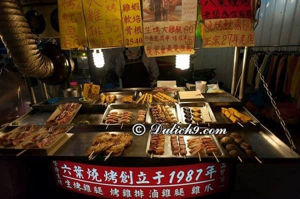 Ăn gì khi du lịch Đài Loan, ăn ở đâu ngon/ Đặc sản, món ngon Đài Loan - Kinh nghiệm ăn uống khi du lịch Đài Loan