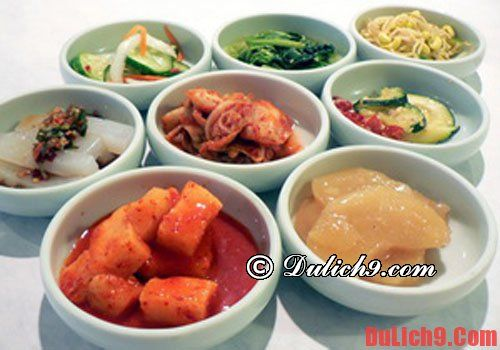 Ăn gì - khi du lịch Hàn Quốc