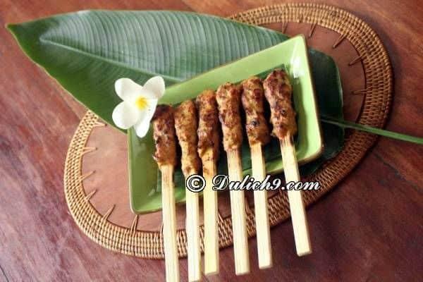 Ăn uống ở Indonesia/ Nên ăn món gì ngon, ở đâu?