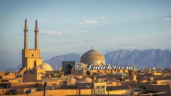 Kinh nghiệm du lịch Iran