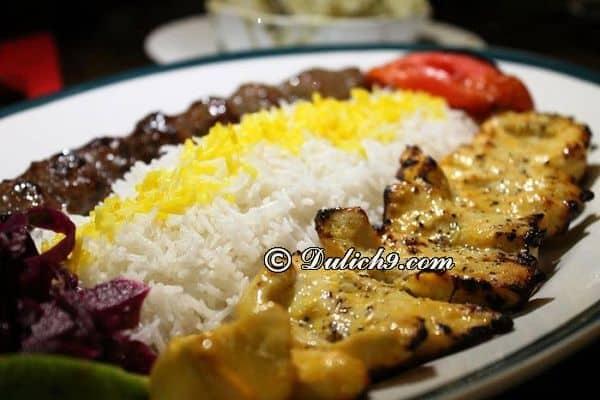 Khám phá nét ẩm thực độc đáo của Iran/ Ăn gì ngon khi du lịch Iran: Kinh nghiệm ăn uống khi du lịch Iran