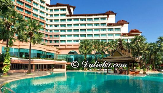 Khách sạn tại Myanmar đẹp, chất lượng/ Nên ở đâu khi du lịch Myanmar: Du lịch Myanmar nên ở khách sạn nào?