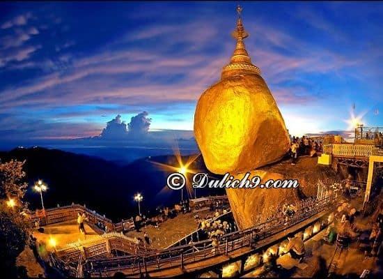 Địa điểm tham quan nổi tiếng ở Myanmar/ Đi đâu, chơi gì ở Myanmar? Hướng dẫn du lịch Myanmar tự túc, giá rẻ