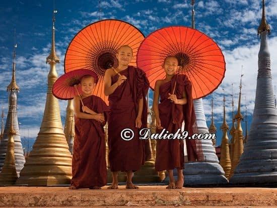 Địa điểm tham quan nổi tiếng ở Myanmar/ Đi đâu, chơi gì ở Myanmar? Hướng dẫn lịch trình du lịch Myanmar tự túc, giá rẻ từ A-Z