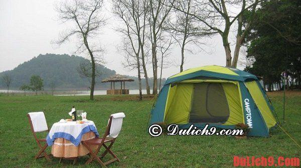 Cắm trại ở Sơn Tinh Camp - Địa điểm cắm trại gần Hà Nội đẹp