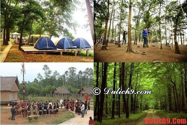 Địa điểm cắm trại và dã ngoại tuyệt vời ở Hà Nội