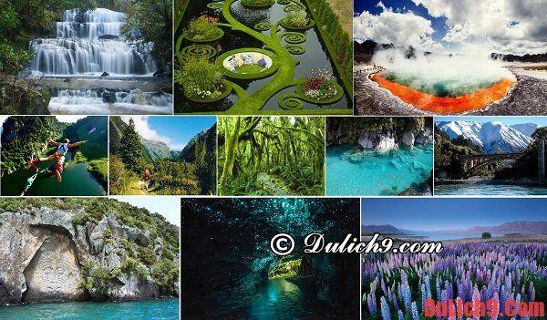 Kinh nghiệm chọn điểm du lịch, thăm quan, khi du lịch New Zealand tự túc