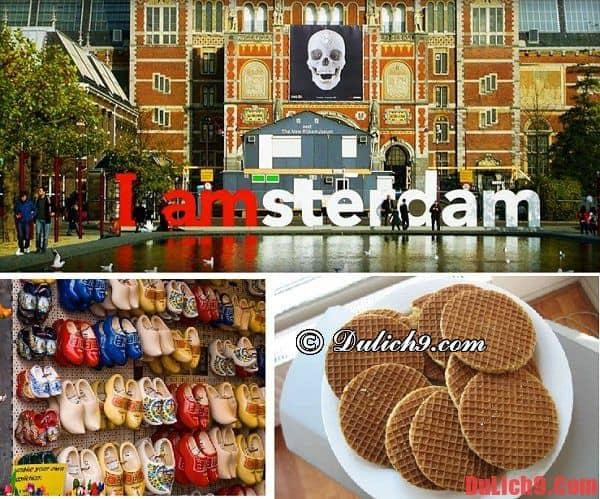 Ăn uống khi đi du lịch Amsterdam