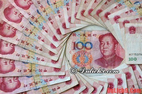 Kinh nghiệm du lịch Bắc Kinh về đổi tiền