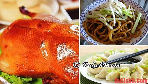 Món ăn nổi tiếng ở Bắc Kinh