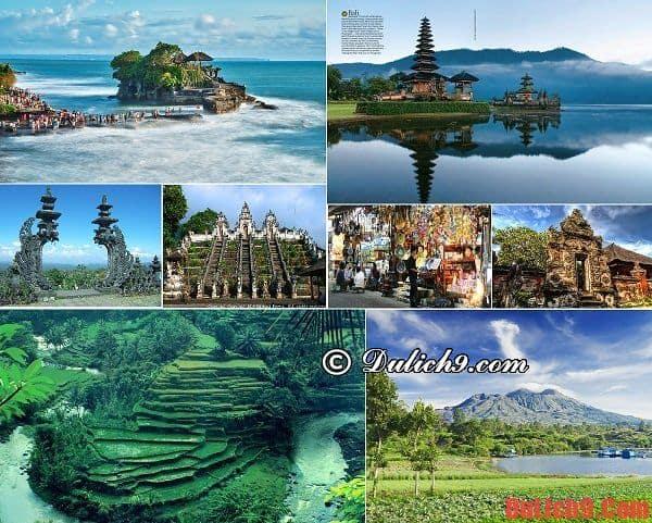 Kinh nghiệm du lịch Bali thú vị khi thăm quan những địa danh nổi tiếng: Chơi gì ở đảo Bali? Địa điểm du lịch nổi tiếng ở đảo Bali