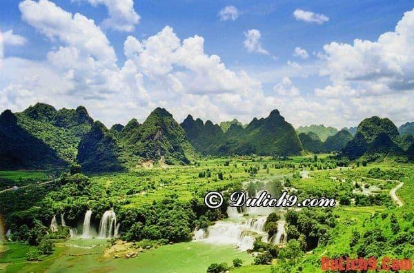 Kinh nghiệm du lịch Cao Bằng 2015