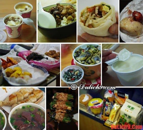Kinh nghiệm du lịch Đài Loan về ăn uống