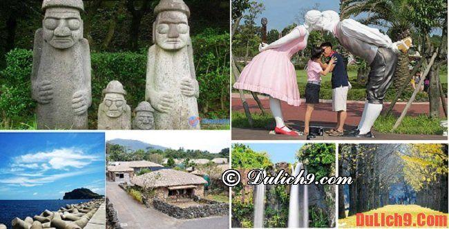 Những địa điểm nổi tiếng ở trên đảo Jeju