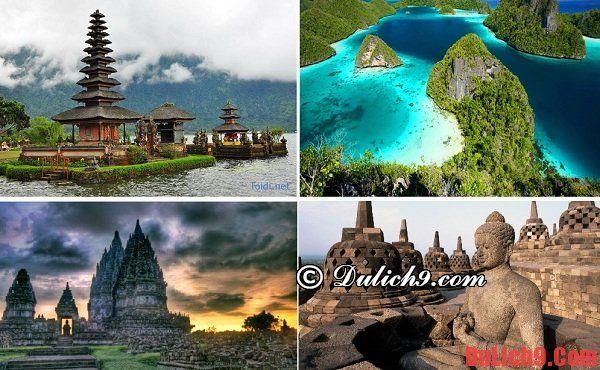 Địa danh nổi tiếng ở Indonesia