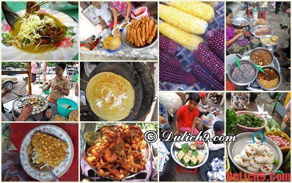 Món ăn nổi tiếng ở Myanmar