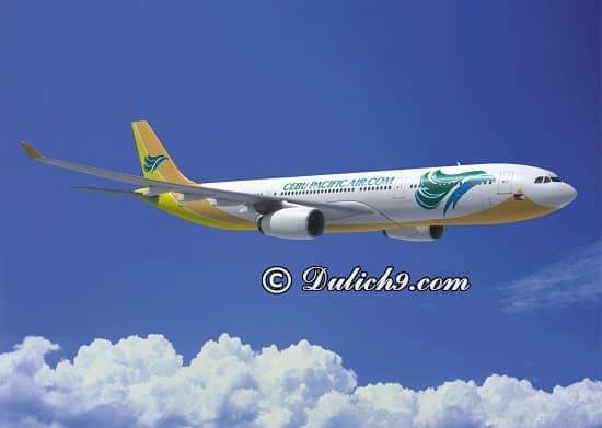 Cách di chuyển tới Philippines/ Phương tiện đi lại khi du lịch Philippines: Giá vé máy bay đi du lịch Philippines bao nhiêu tiền?