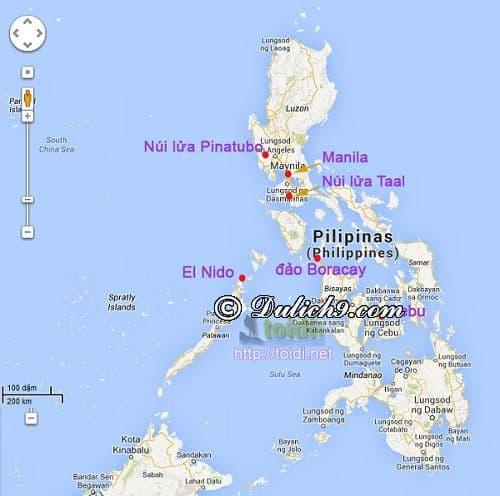 Kinh nghiệm du lịch Philippines tự túc, giá rẻ: Hướng dẫn cách di chuyển, đi lại, ăn uống khi du lịch Philippines