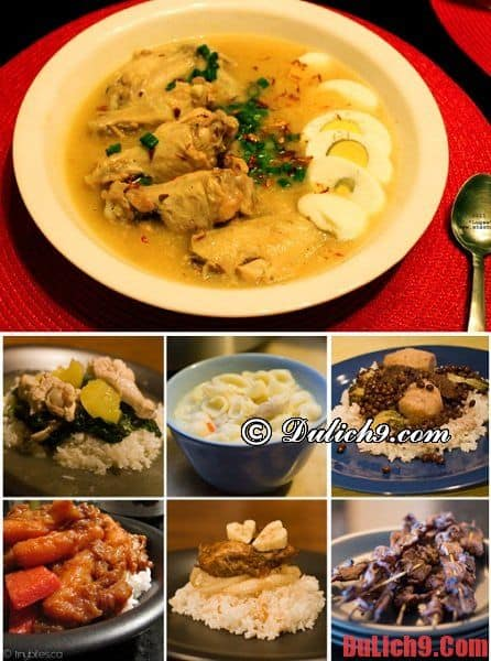 Kinh nghiệm du lịch Philippines về ăn uống