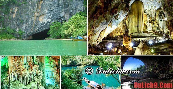 Kinh nghiệm du lịch Phong Nha - Kẻ Bàng về địa điểm