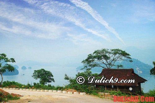 Kinh nghiệm du lịch Thung Nai