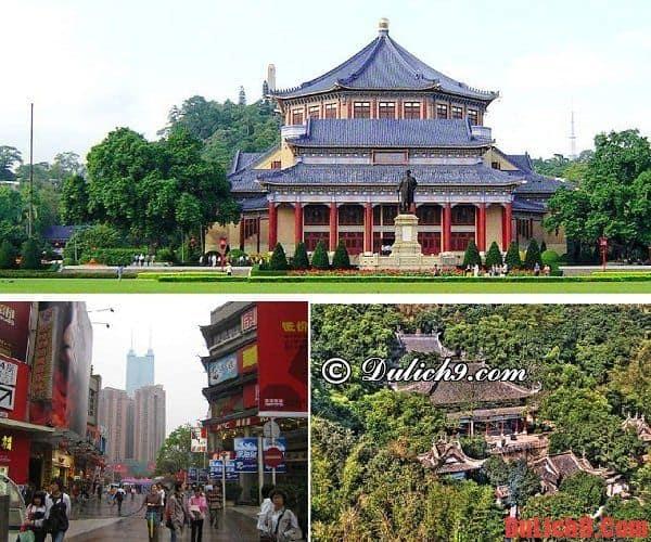 Địa điểm tham quan nổi tiếng ở Quảng Châu: Hướng dẫn lịch trình du lịch Quảng Châu tự túc, chi tiết