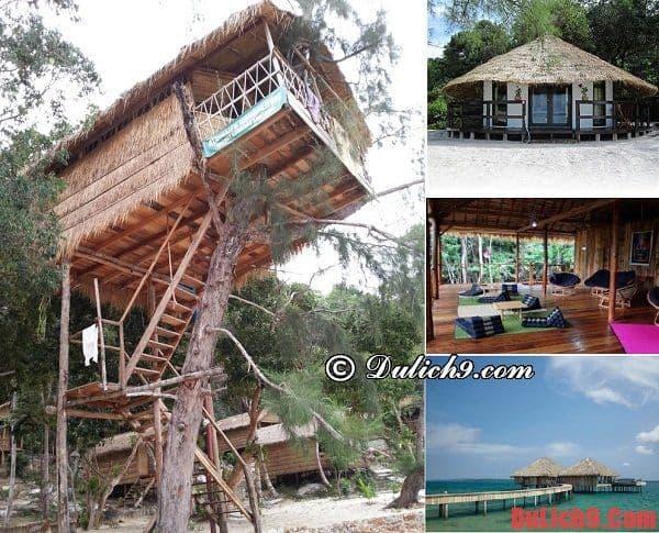 Kinh nghiệm du lịch đảo Koh Rong Samloem vui vẻ, trải nghiệm: Nên ở khách sạn nào khi du lịch đảo Koh Rong Samloem?