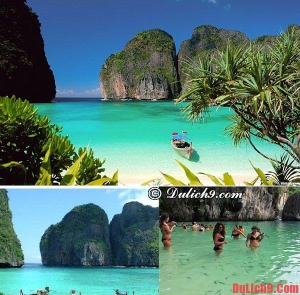 Bãi biển Krabi, Thailand - điểm du lịch hấp dẫn ở Đông Nam Á