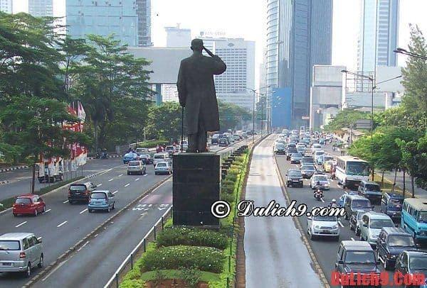 Thủ đô Jakarta, Indonesia - Nên đi đâu tham quan ở Đông Nam Á? Du lịch Đông Nam Á nên đi đâu?