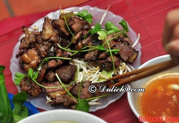 Những địa điểm ăn vặt ngon và rẻ ở Hà Nội? - bún ngan - Du lịch Hà Nội ăn vặt ở đâu ngon, nổi tiếng?