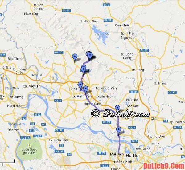 Lộ trình phượt Tam Đảo bằng xe máy: Hướng dẫn đường đi từ Hà Nội đến Tam Đảo nhanh, gần nhất