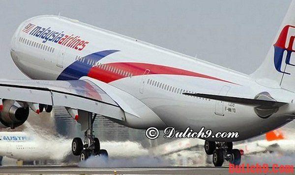Từ Hà Nội có những hãng hàng không nào bay tới Malaysia?