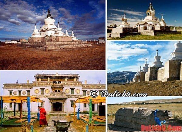 Tu viện Phật giáo Erdene-Zuu - Du lịch Mông Cổ chiêm ngưỡng những điểm đến lý tưởng và kỳ thú. Địa điểm du lịch nổi tiếng ở Mông Cổ. Du lịch Mông Cổ nên đi đâu chơi?
