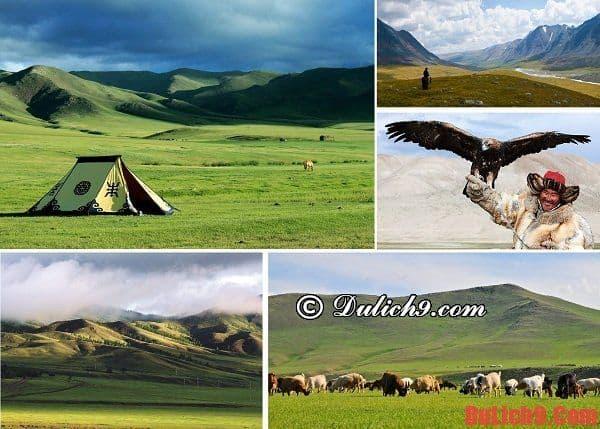 Thảo nguyên Kharkhorin - Điểm đến nổi tiếng phải đến khi du lịch Mông Cổ. Địa điểm du lịch nổi tiếng ở Mông Cổ